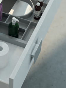 Sistemas modulares para baño